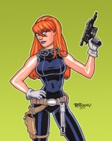 Mara Jade by BillMcKay
