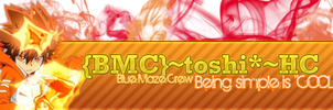 Forum Signature for Toshi by KiiitXD