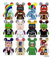 Muppet Vinylmation 5 Proposal - Muppet Movies by mbaboon