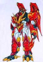 dragon megazord... by kishiaku