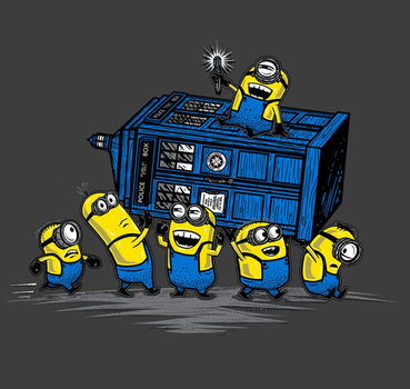 Dispicable-me-minions-doctor-who-poster by PinkieDashPie