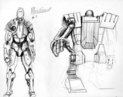 Metropolis Police concept art 1 by Counterdraw