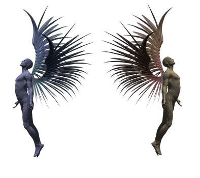 Fantasy Male Angel png by mysticmorning