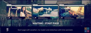 Waiting - start page by Krzyho