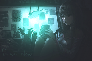 Forever Alone [LIGHT EDIT] by AikoGFX