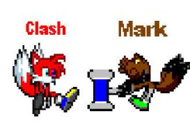 Clash and Mark by CozandTails