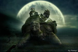Turtle Island (Revolution) by AsepPhotoshoper