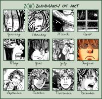 2010 Summary of Art by TracyWilliams