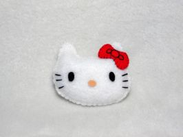 Hello Kitty Plush by EmilyHitchcock