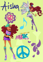 Winx Club Poster: Aisha/Layla by Rose9227614