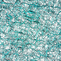 Metallic Teal Wire Overlay by ambersstock