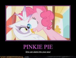 Pinkie Pie Demotivational by mateo361