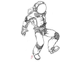 Astronaut by Morfyia