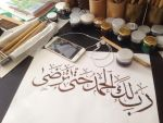 Hand-writing by calligrafer