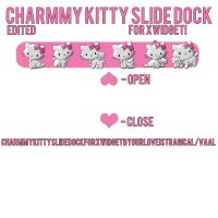 Charmmy Kitty Slide Dock xwidget. by iGoodbyeBreakingBad