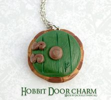 Hobbit Door Pendant by Comsical