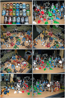 Bionicle Collection by VaLkyR-Anubis
