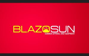 BlazoSun Logo + Wallpaper by IkeGFX
