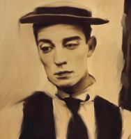 Buster Keaton by Rubbersoul1965