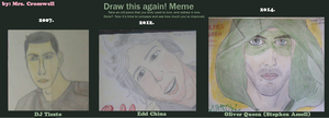 Draw this again! - Meme (Portraits) by MrsCromwell