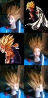 Wig Gohan SSj2 Cell Game by Zell-Ecstasy
