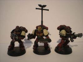 More Blood Ravens Space Marines by ORKSWAAAGH