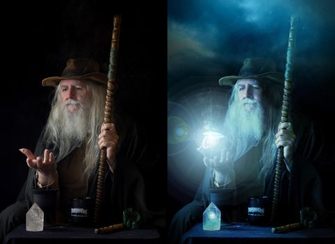 dresden wizard_BEFORE AFTER by Ryder7791