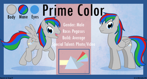 Commission - Prime Color Ref Sheet by MattsyKun