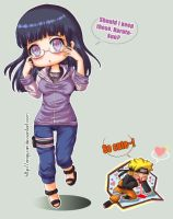 Decision - NaruHina by Angywis