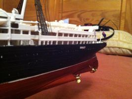 RMS Lusitania 1:350 Scale pt5 by Crystal-Eclair