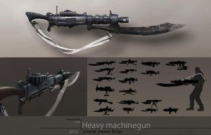 Machinegun Concept by silent-rage