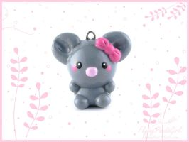 Mouse Charm by FlyingPandaGirl