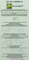 Are You A Member of DeviantArt? by TopperHay