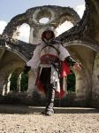 Ezio Auditore: Assassin by LittleBlondeGoth