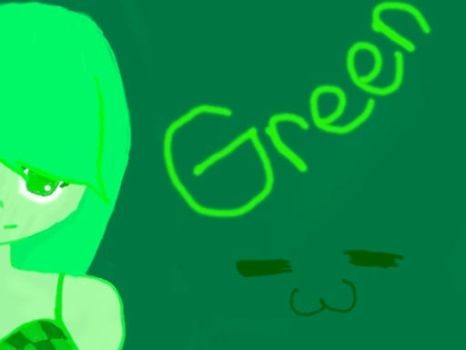 GREEN HHRRNNGHHHH by Rosalina98
