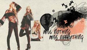Miss Nothing by justletusbefree