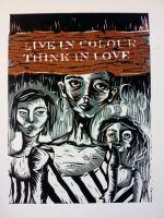 live in colour, think in love by sushikwon