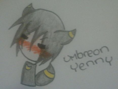 Umbreon Yenny by iSketchy