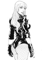 Black Canary by Deilson by Ed-Benes-Studio