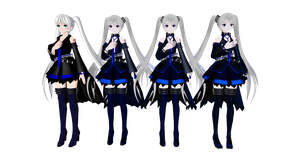 TDA Hagane Miku v1.00 to 4.00 Choose for DL by Rashys