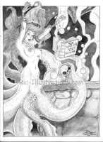 Sea Witches First Spell by lrq