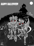 Happy Halloween 2014 by Laserbot