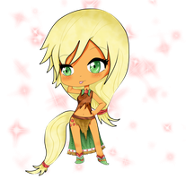 MLP Chibi: AppleJack by Sumima