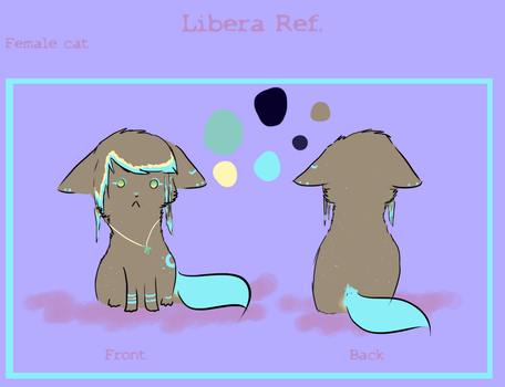Libera ref by The-Derpfaced-Kitty