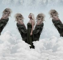 In the clouds by kristinaalegro
