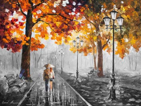 STROLL OF INFINITY  Limited edition giclee by Leonidafremov