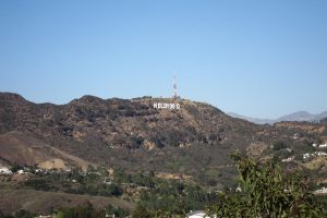 Los Angeles - Mulholland Drive Hollywood by elodie50a