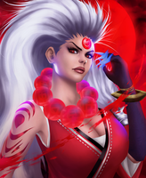 Blood Moon Diana by Projeect