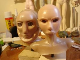 Sculpey Faces 2 by XAVERIVS