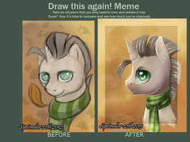 Draw this again -Golden Autumn- by Melon-Drop